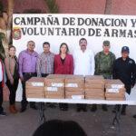 Exhortan a donar armas de fuego para prevenir violencia y tragedias