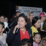 Árbol Navideño une a familias guasavenses en convivencia