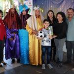 Niños y familias tienen extraordinario Día de Reyes
