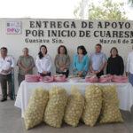 DIF entrega pescado y papas a familias humildes por inicio de Cuaresma