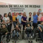 Agradece el Ayuntamiento apoyo de la Fundación ROC WHEELS