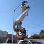 Obras Públicas rehabilita el alumbrado del Hospital General