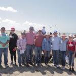 Guasave y Salvador Alvarado se unen en la limpieza de playa en Bellavista