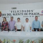 Vamos a dignificar a nuestros policías y sus familias: Aurelia Leal López