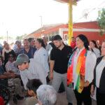 Atienden Jornadas de Apoyo a familias en El Cerro Cabezón