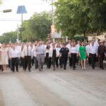 Saldo blanco en desfile por el 109 aniversario de la Revolución