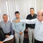 Gerardo Peñuelas rinde protesta como secretario del Ayuntamiento