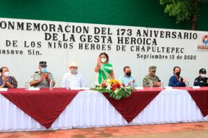 Los Niños Héroes son un ejemplo a seguir para la transformación del país: Julio Iván Villicaña