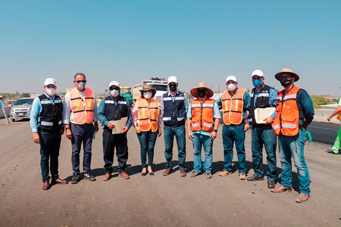 La SCT invierte en Guasave 49 MPD en el puente superior en Ruiz Cortines y reencarpetado a Nío