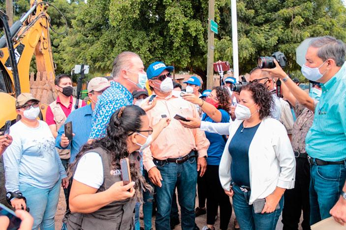 Invierten 7.4 MPD en rehabilitación del colector Heriberto Valdez