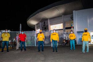 Club Algodoneros abre temporada bajo un estricto control sanitario
