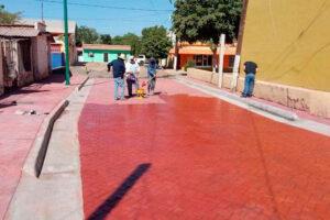 En este año se han invertido 185 millones de pesos en obras en todo el municipio