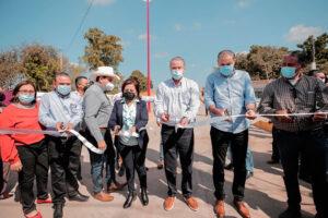 La presidenta municipal y el gobernador inauguran el puente elevado del Río Sinaloa