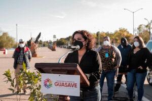 Inicia el Ayuntamiento de Guasave reforestación de 6.5 kilómetros del Río Sinaloa