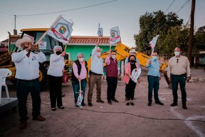 El Ayuntamiento aplica más de 3 MDP del predial rústico en obras en la sindicatura de Bamoa