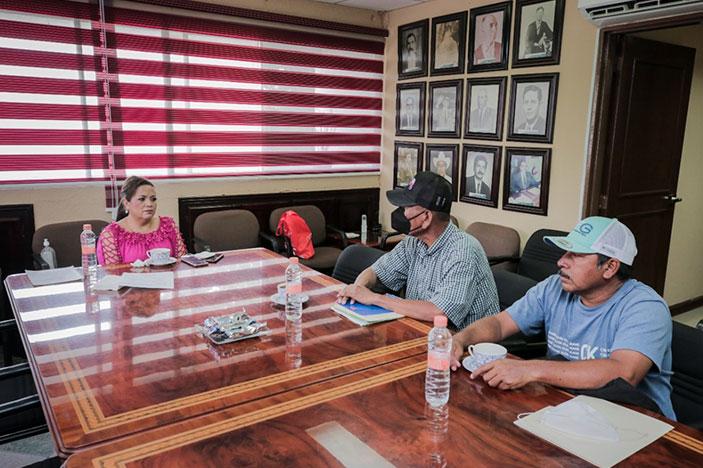 Alcaldesa anuncia apoyo para rehabilitación de centros ceremoniales indígenas