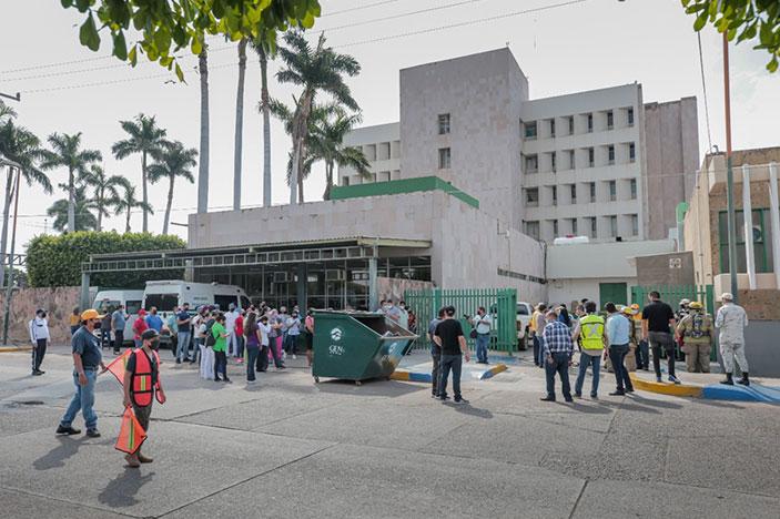 Protección Civil de Guasave realiza tres simulacros de sismos para promover cultura de prevención