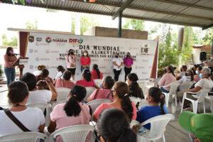 Guasave impulsa acciones solidarias contra la desnutrición y la pobreza: Evangelina Llanes Carreón